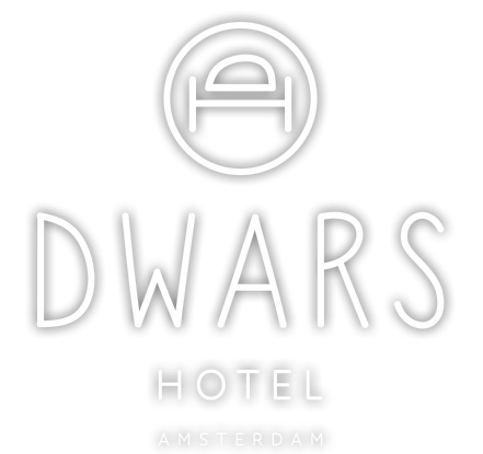 Hotel Dwars in the center of Amsterdam